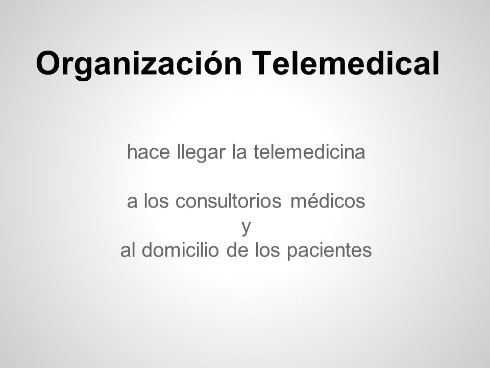 Organización Telemedical