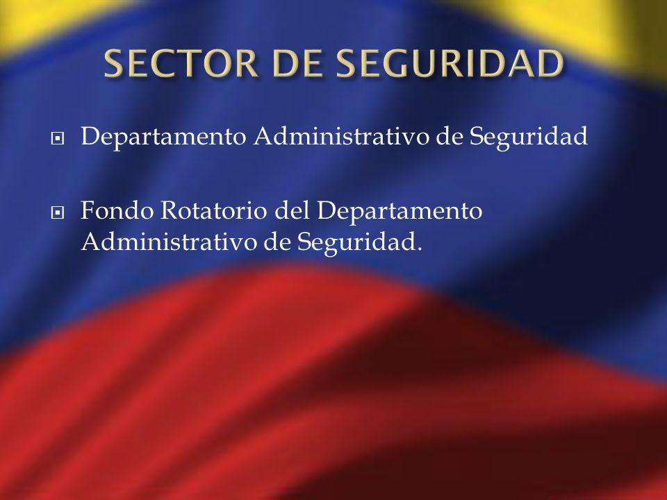 SECTOR DE SEGURIDAD Departamento Administrativo de Seguridad