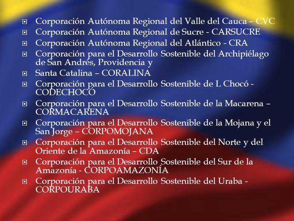 Corporación Autónoma Regional del Valle del Cauca – CVC
