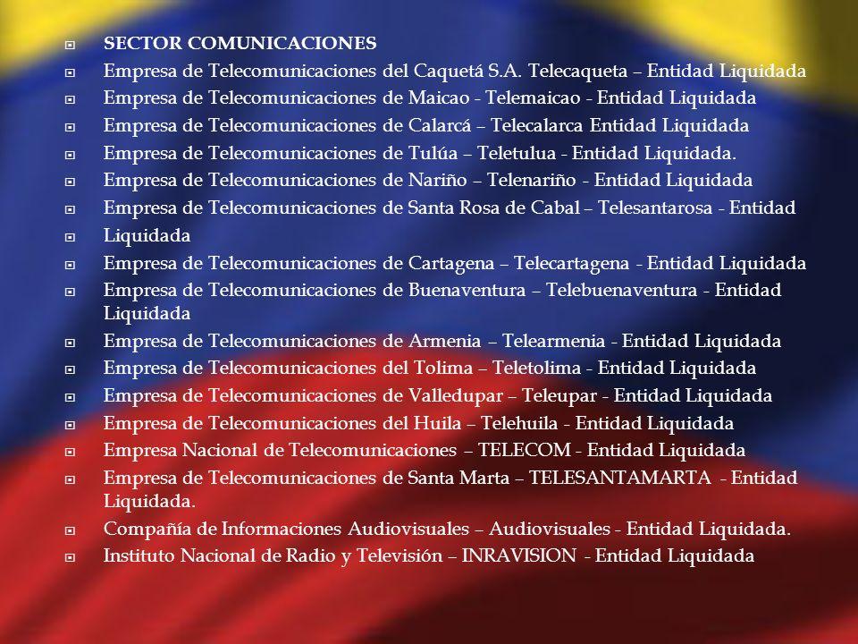 SECTOR COMUNICACIONES
