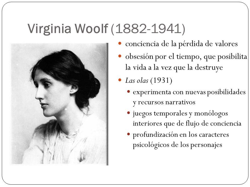 Virginia Woolf (1882-1941) conciencia de la pérdida de valores