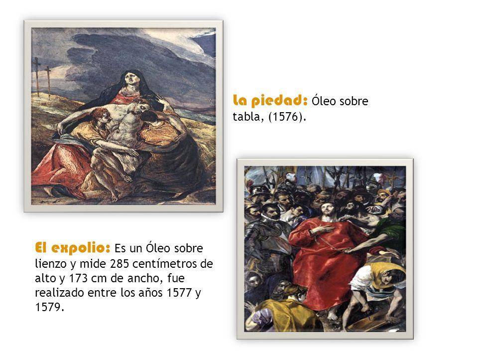 La piedad: Óleo sobre tabla, (1576).