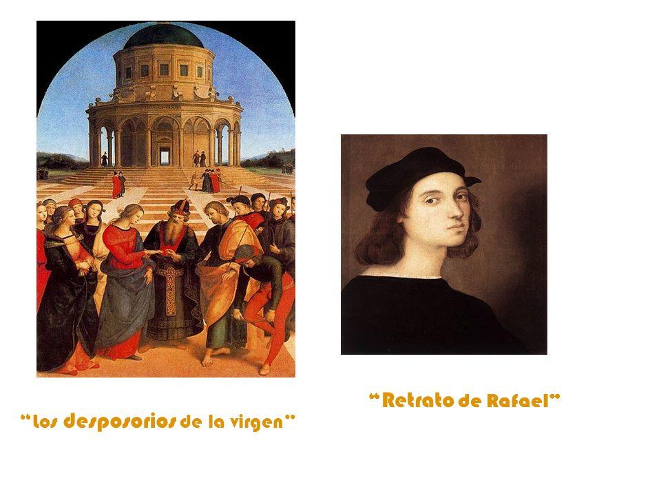 Retrato de Rafael Los desposorios de la virgen