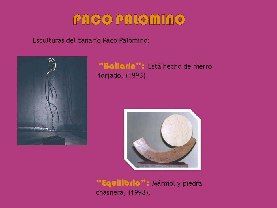 Paco palomino Bailarín : Está hecho de hierro forjado, (1993).