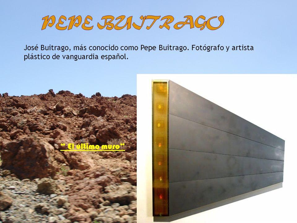 Pepe buitrago El último muro