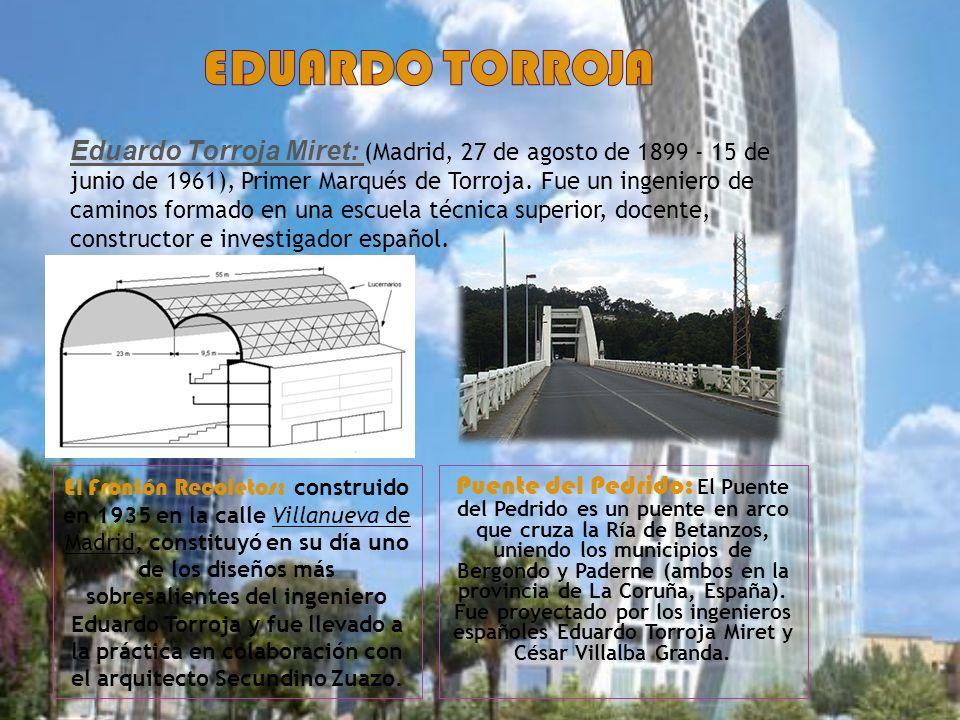 Eduardo torroja