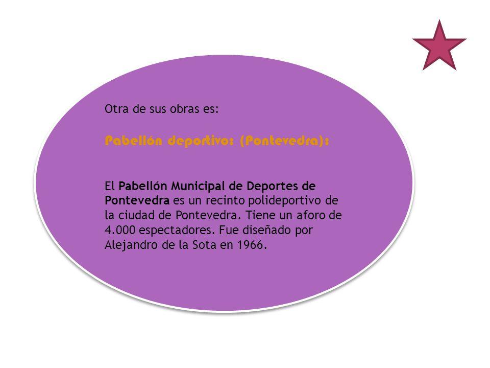 Pabellón deportivo: (Pontevedra):