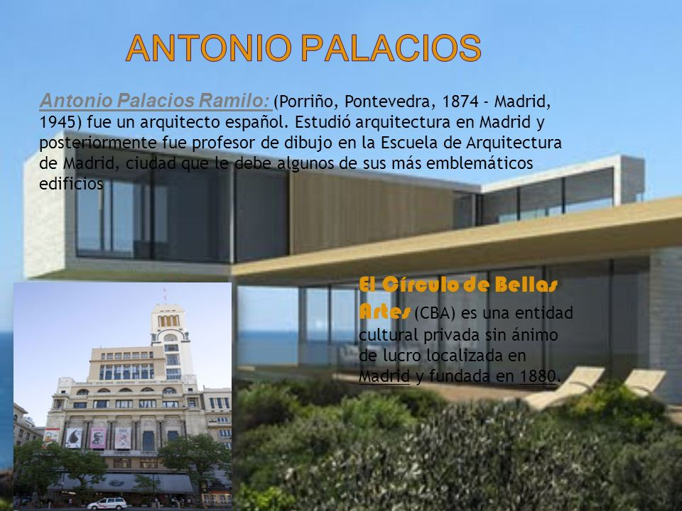 Antonio palacios