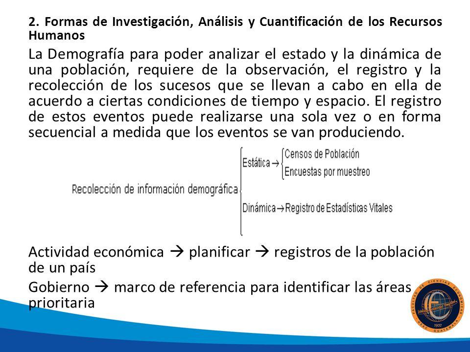 Gobierno  marco de referencia para identificar las áreas prioritaria