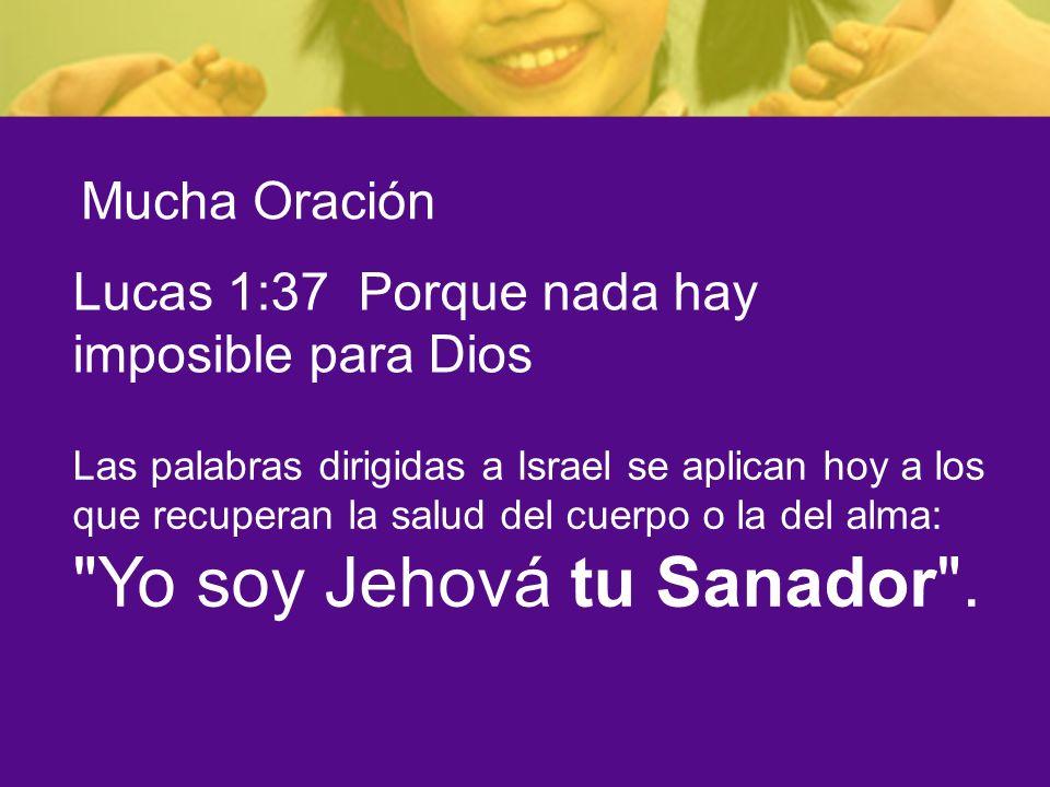 Lucas 1:37 Porque nada hay imposible para Dios