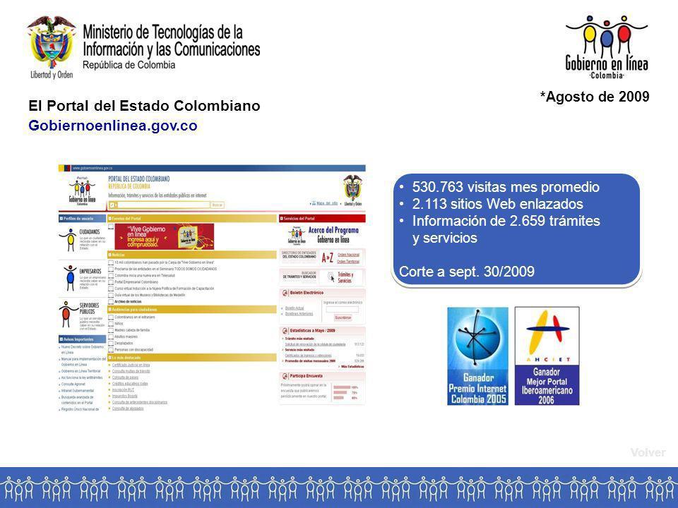 El Portal del Estado Colombiano Gobiernoenlinea.gov.co