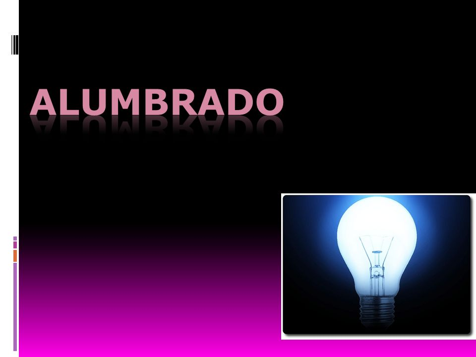 ALUMBRADO