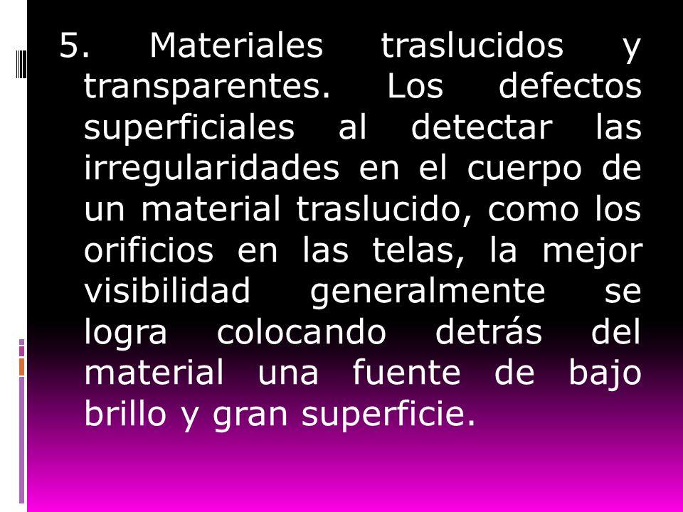 5. Materiales traslucidos y transparentes