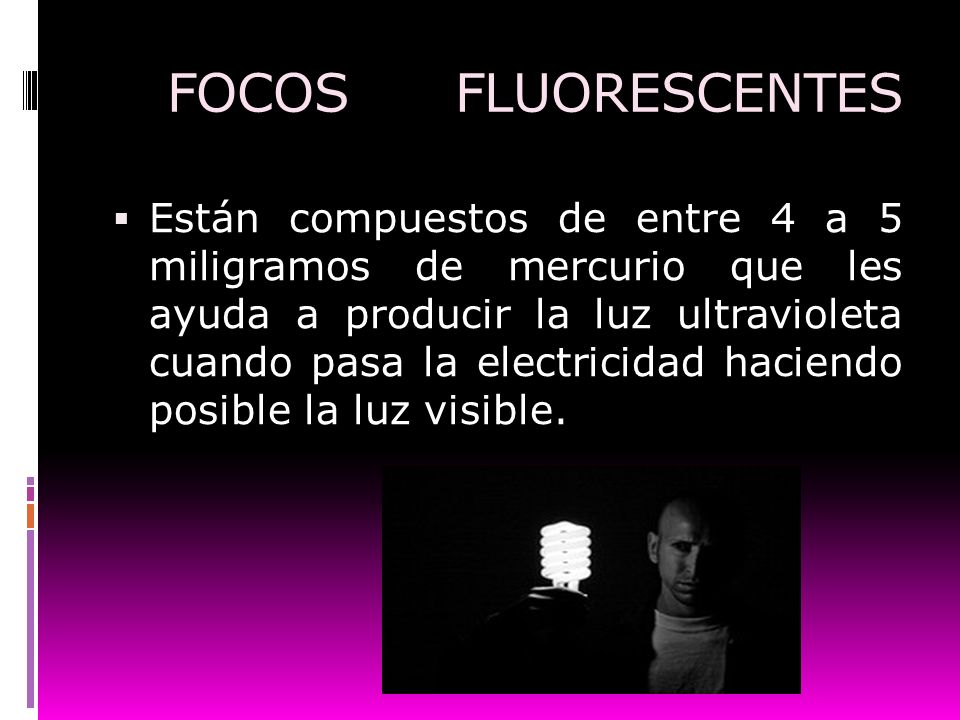 FOCOS FLUORESCENTES
