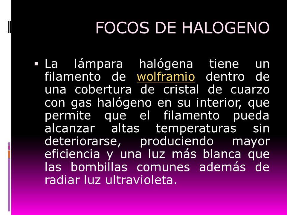 FOCOS DE HALOGENO