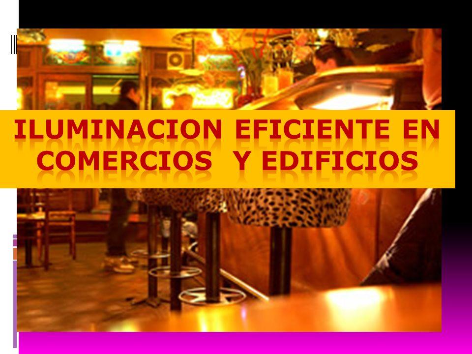 ILUMINACION EFICIENTE EN COMERCIOS Y EDIFICIOS
