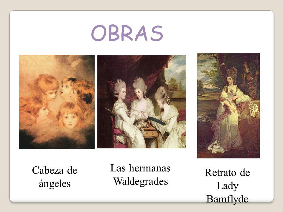 OBRAS Las hermanas Waldegrades Cabeza de ángeles