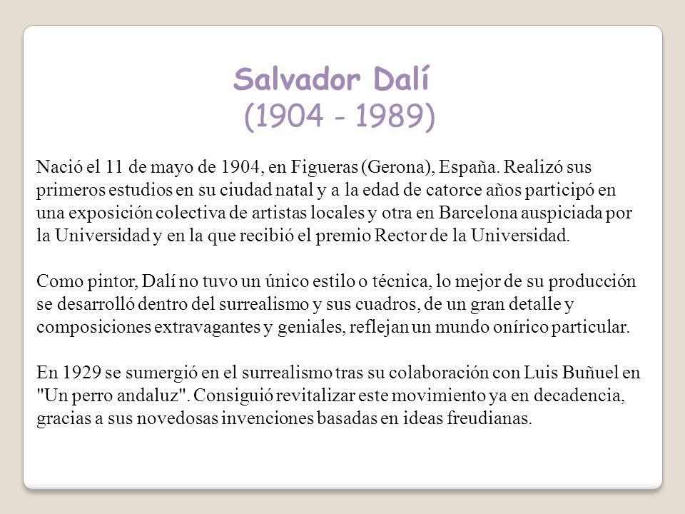 Salvador Dalí (1904 - 1989)