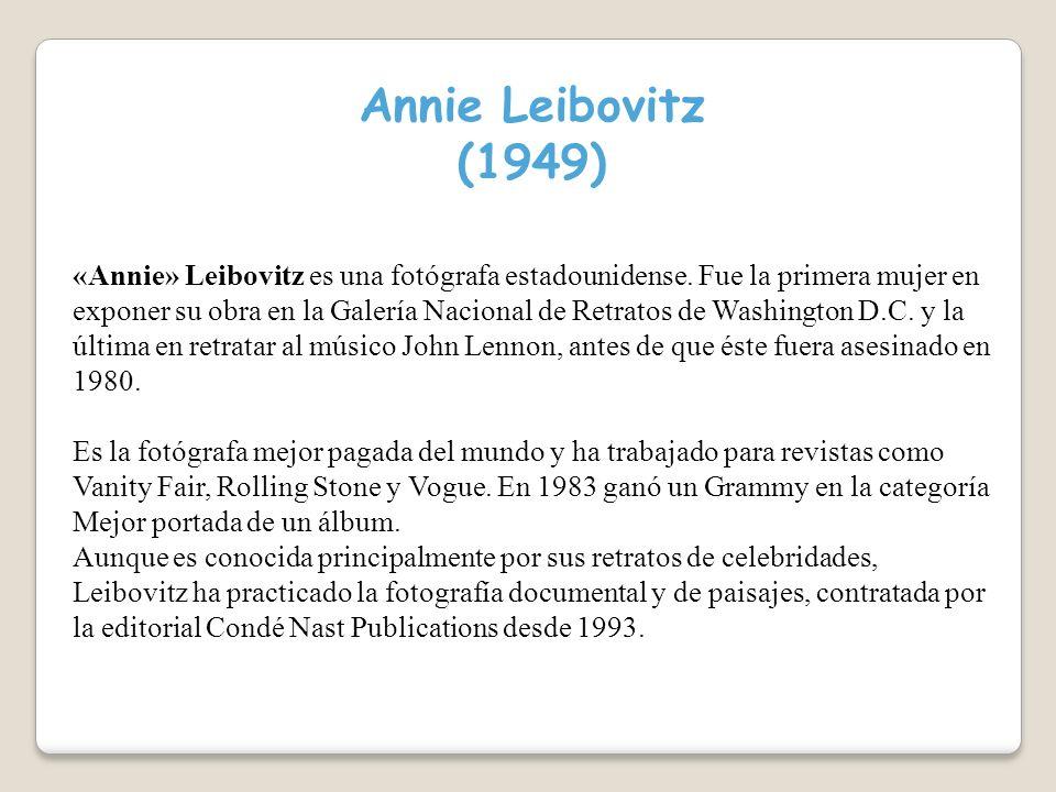Annie Leibovitz (1949)