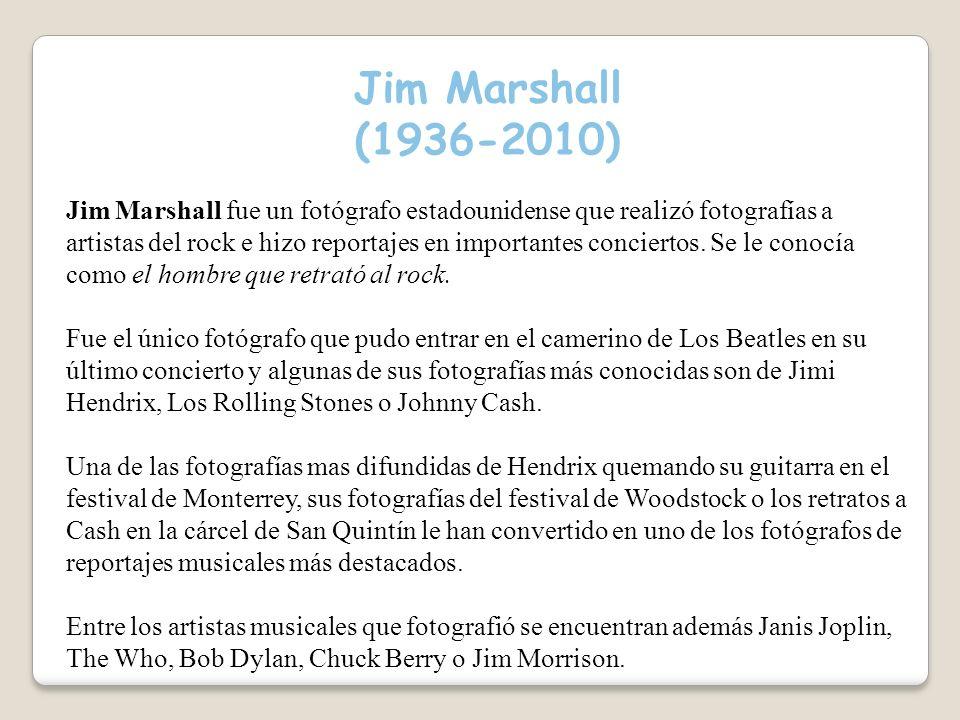 Jim Marshall (1936-2010)