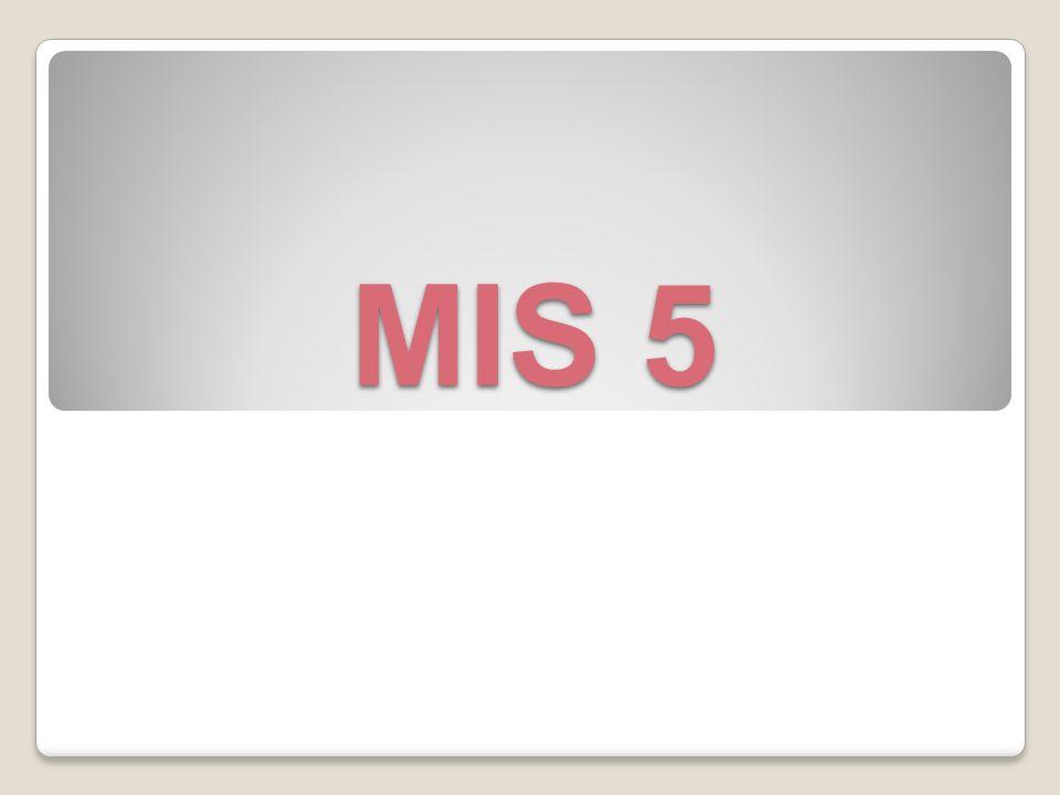 MIS 5