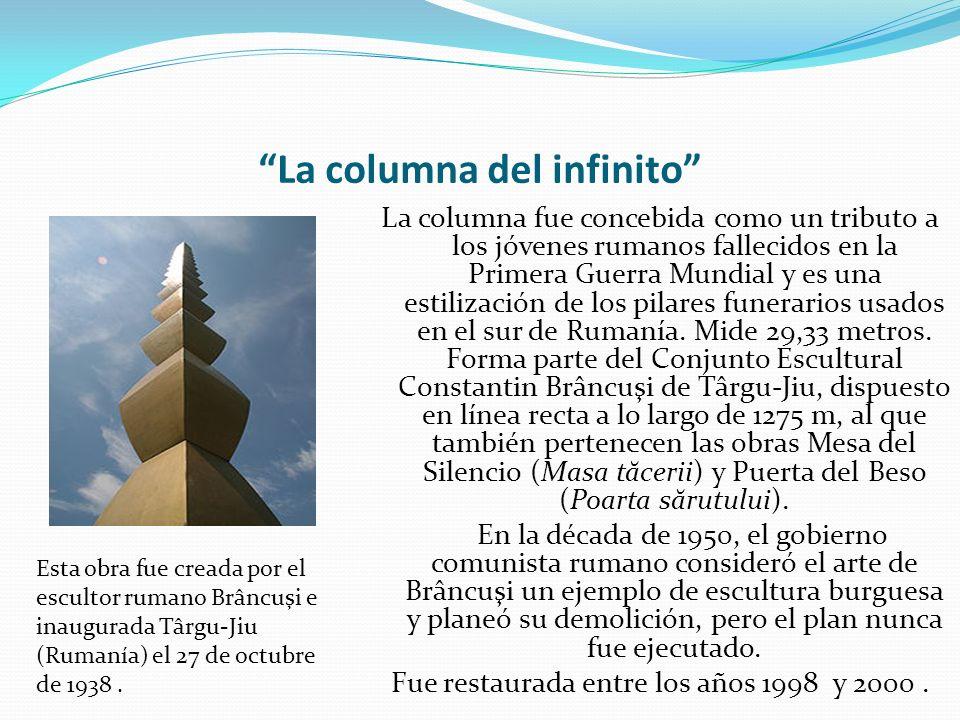 La columna del infinito