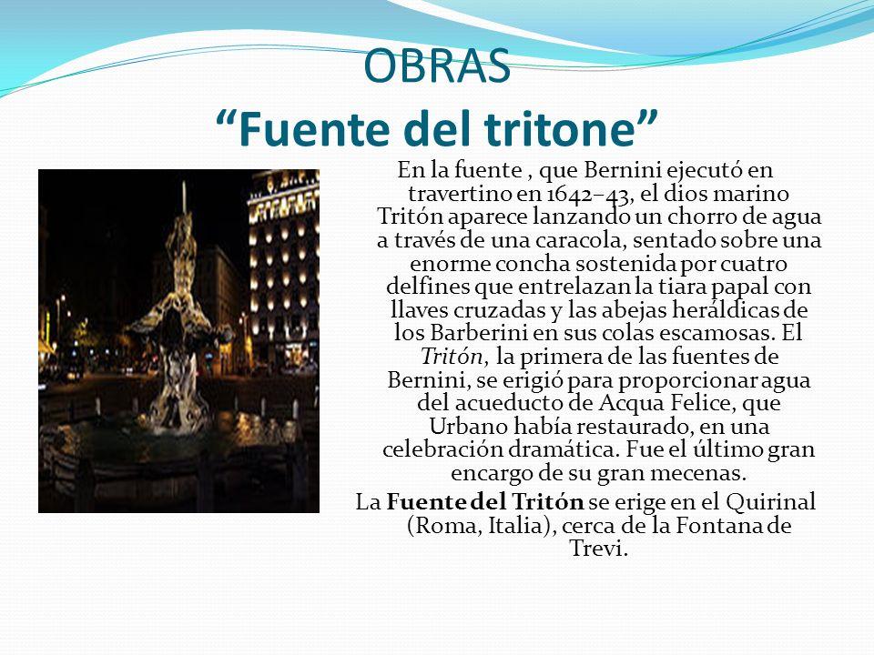 OBRAS Fuente del tritone