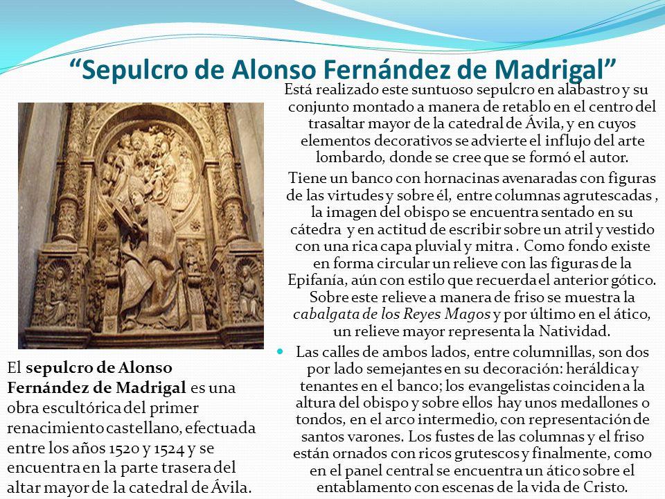 Sepulcro de Alonso Fernández de Madrigal