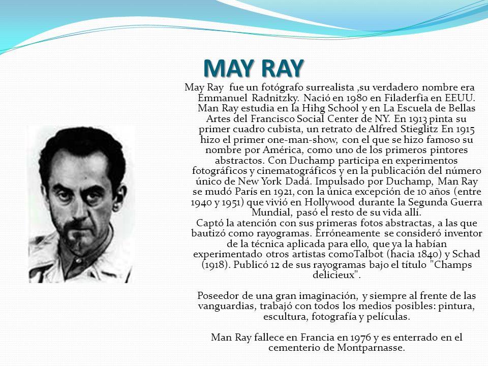 MAY RAY