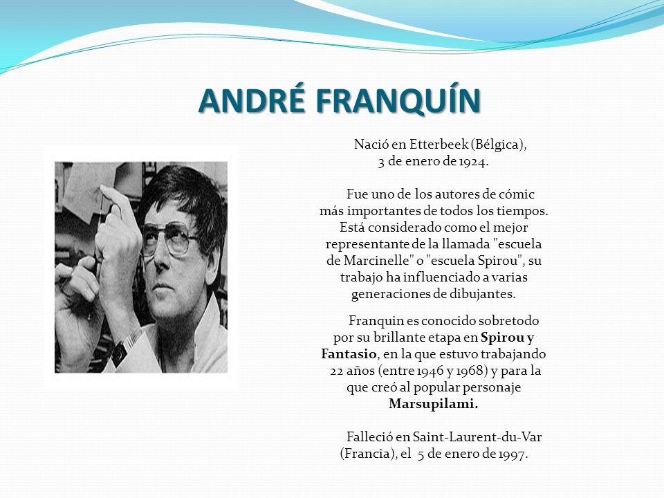 ANDRÉ FRANQUÍN