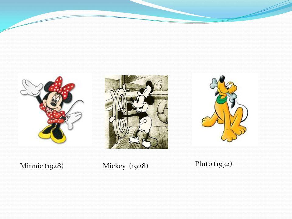 Pluto (1932) Minnie (1928) Mickey (1928)