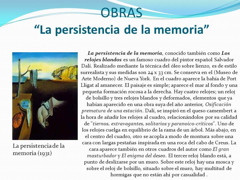 OBRAS La persistencia de la memoria