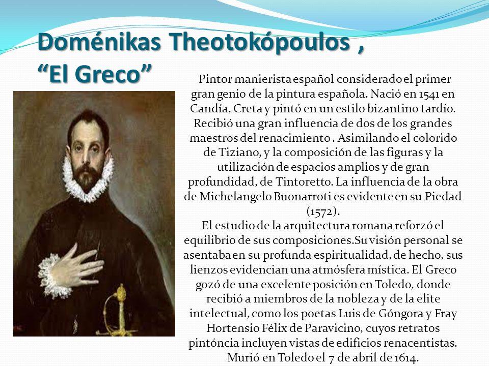 Doménikas Theotokópoulos , El Greco