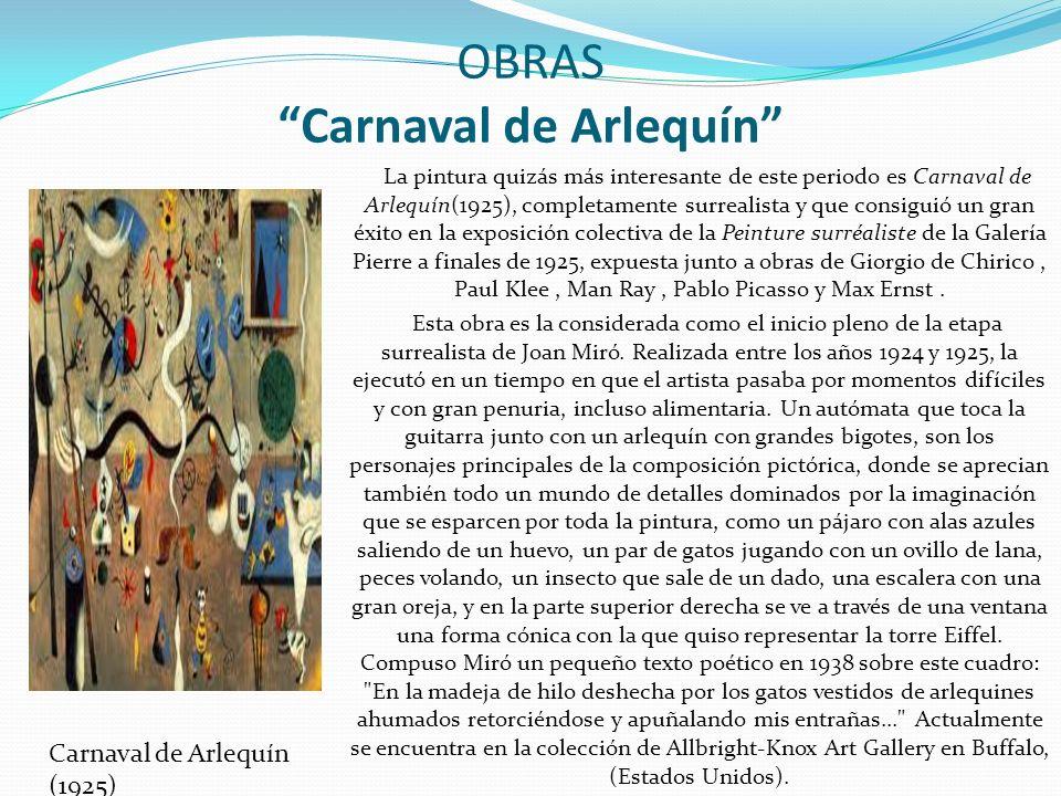 OBRAS Carnaval de Arlequín