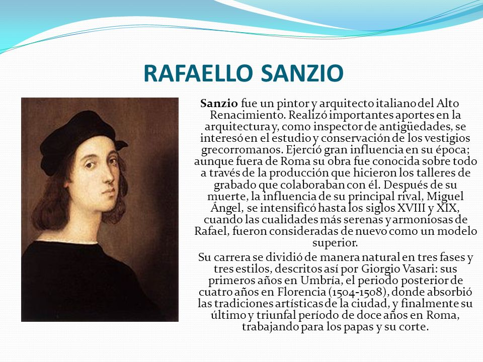 RAFAELLO SANZIO