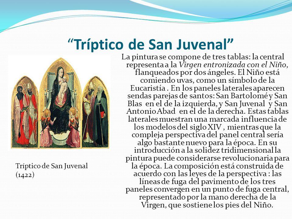 Tríptico de San Juvenal