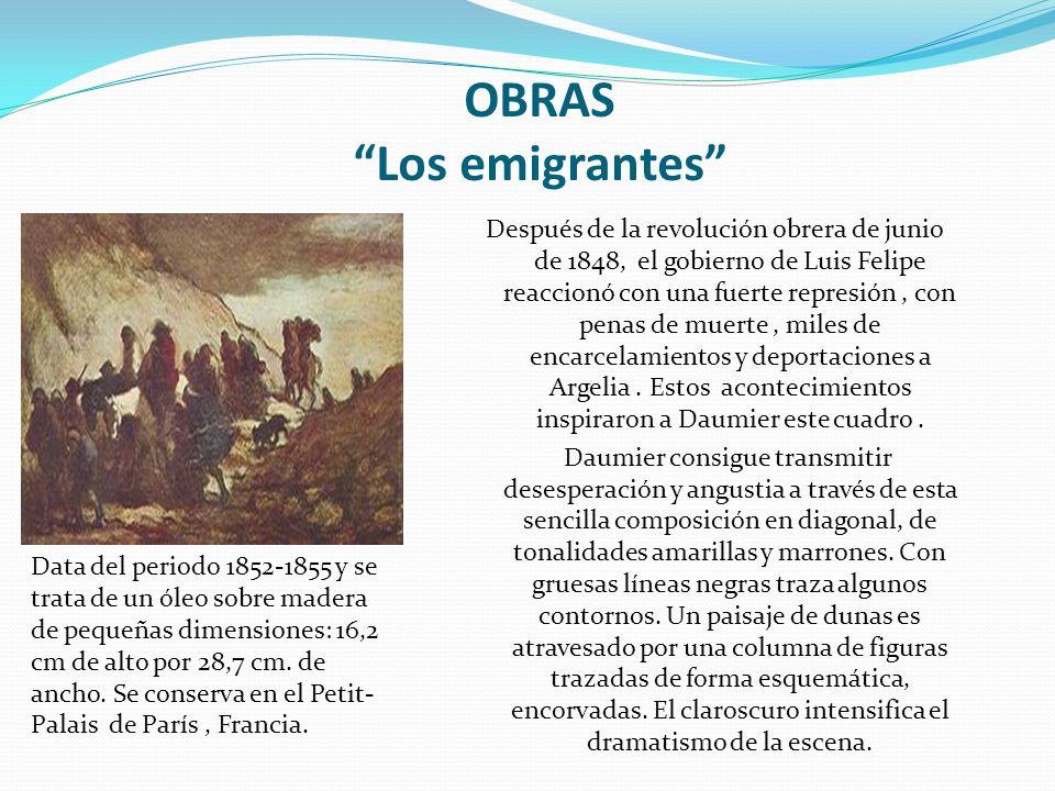 OBRAS Los emigrantes