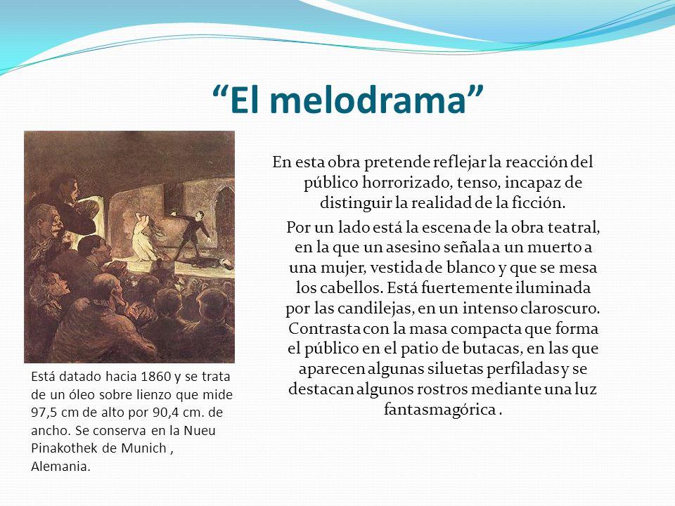El melodrama