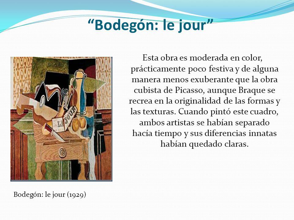 Bodegón: le jour