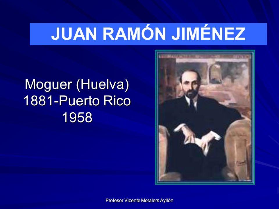 Moguer (Huelva) 1881-Puerto Rico 1958