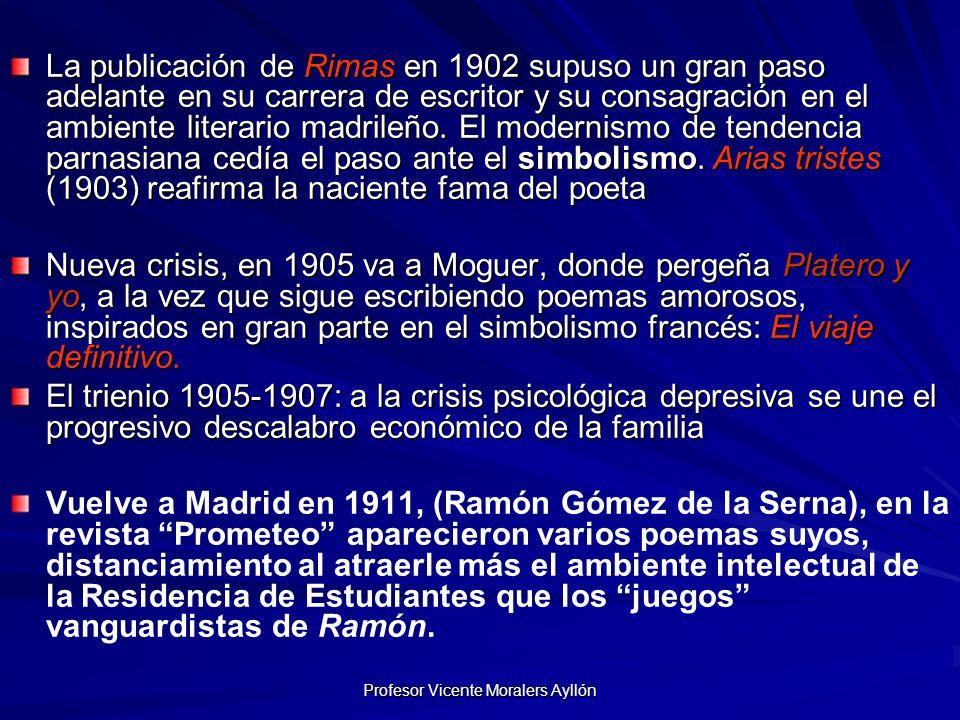 Profesor Vicente Moralers Ayllón