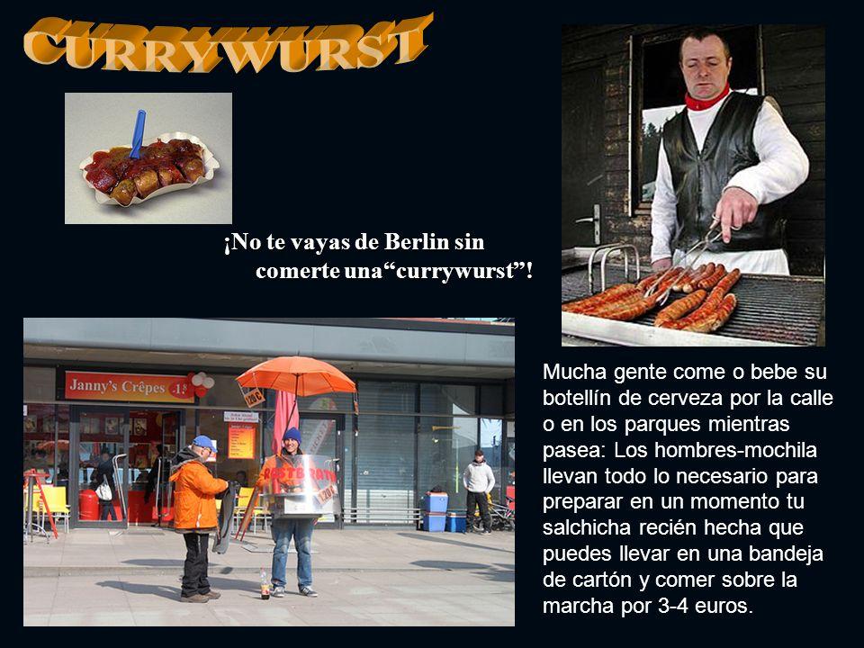 CURRYWURST ¡No te vayas de Berlin sin comerte una currywurst !