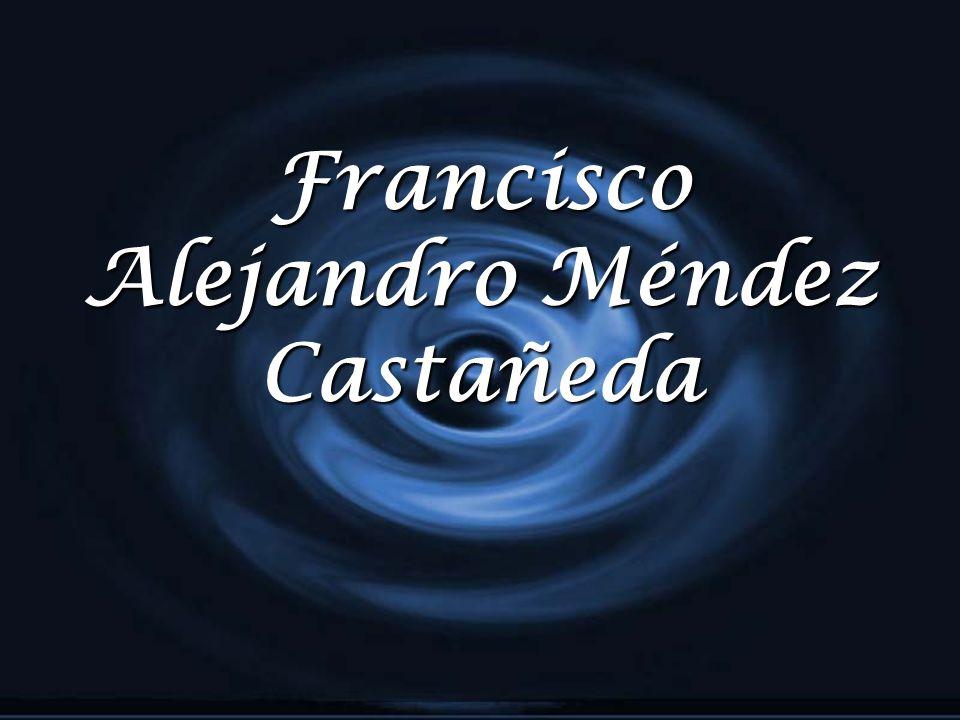 Francisco Alejandro Méndez Castañeda