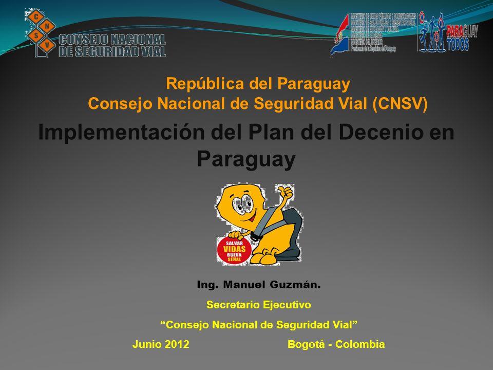 Implementación del Plan del Decenio en Paraguay