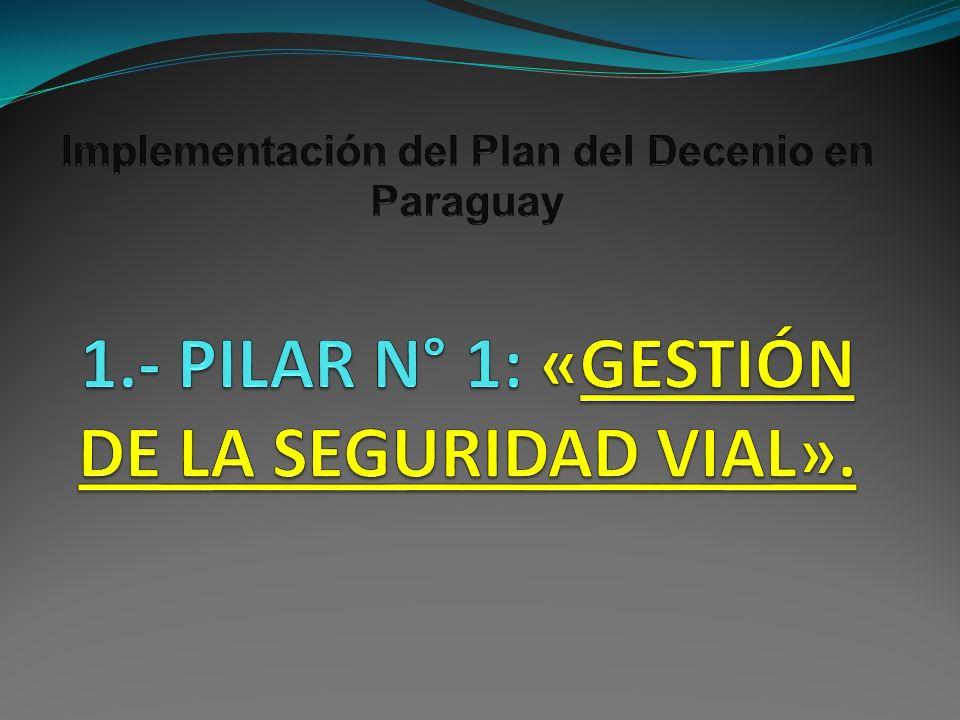Implementación del Plan del Decenio en Paraguay 1