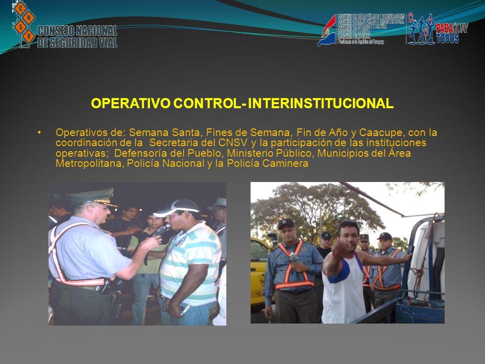 OPERATIVO CONTROL- INTERINSTITUCIONAL