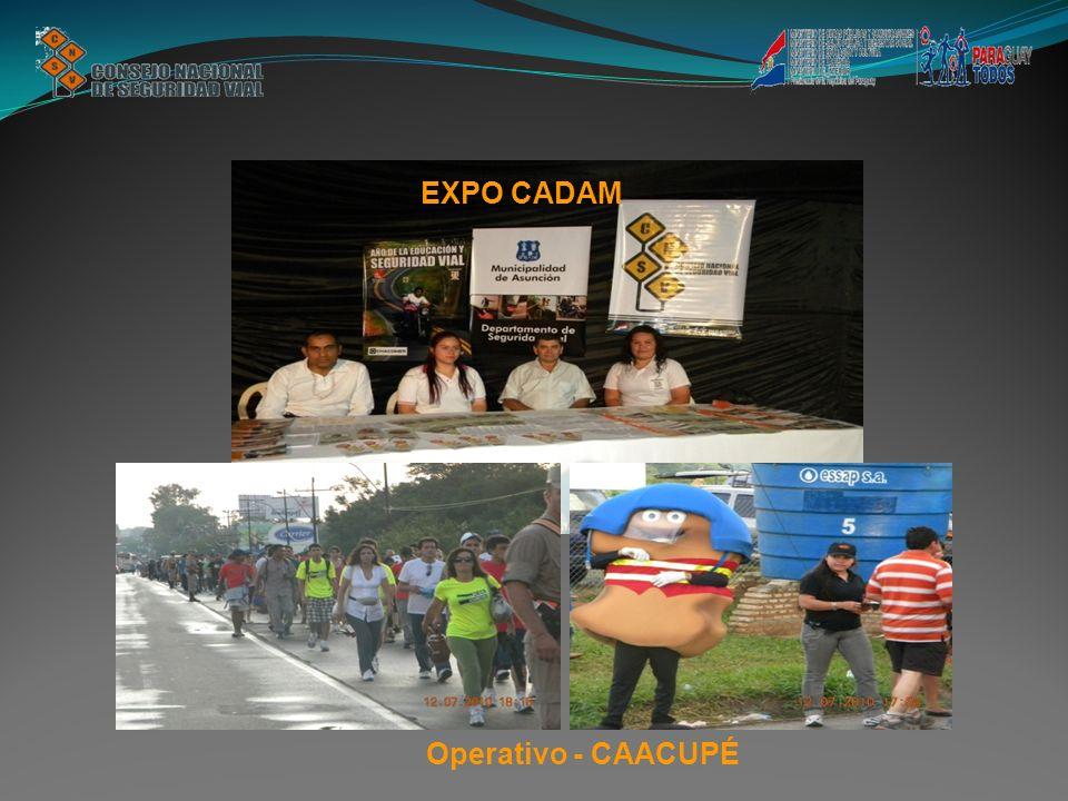 EXPO CADAM Operativo - CAACUPÉ