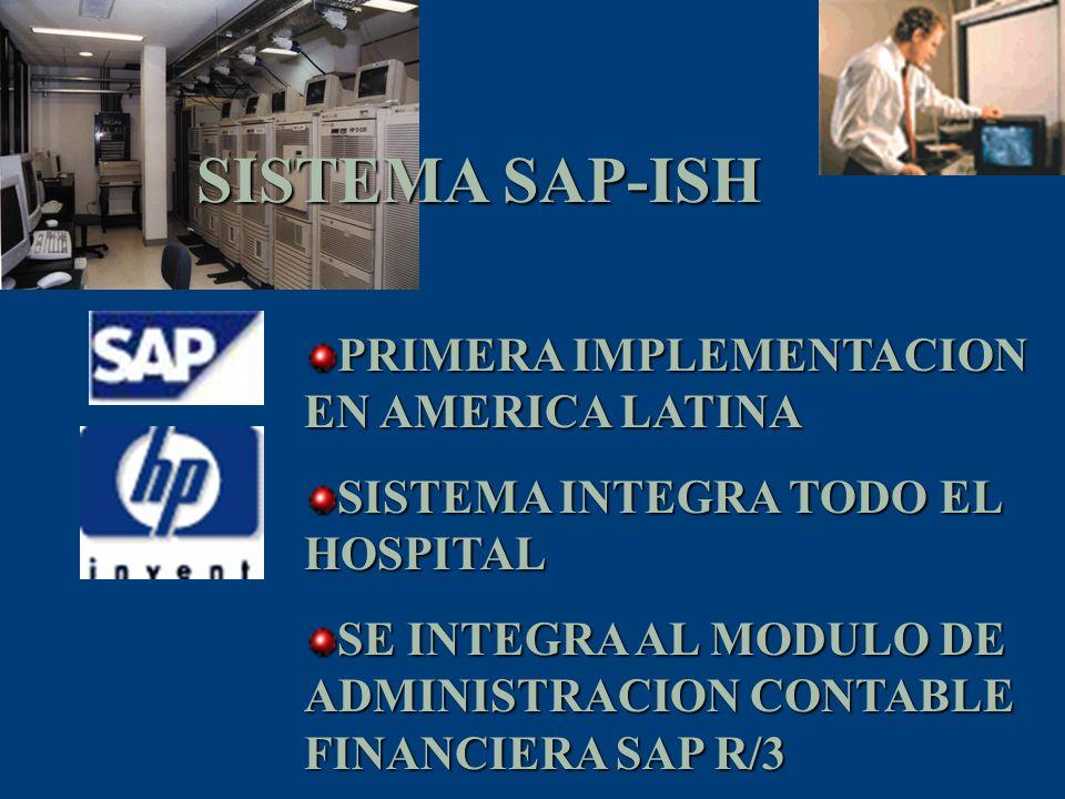SISTEMA SAP-ISH PRIMERA IMPLEMENTACION EN AMERICA LATINA