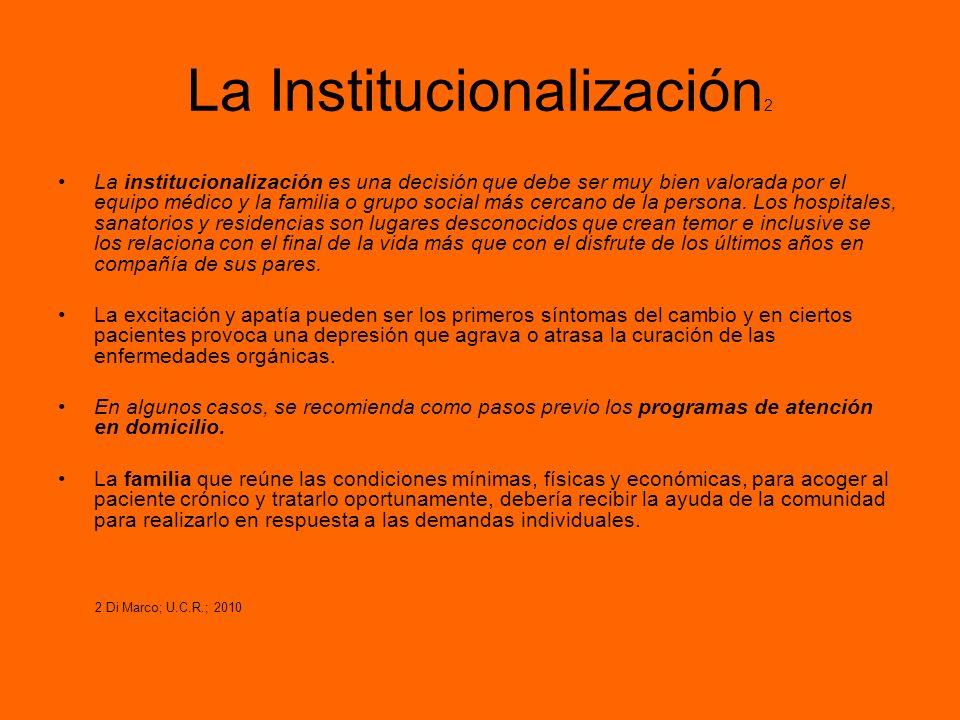 La Institucionalización2