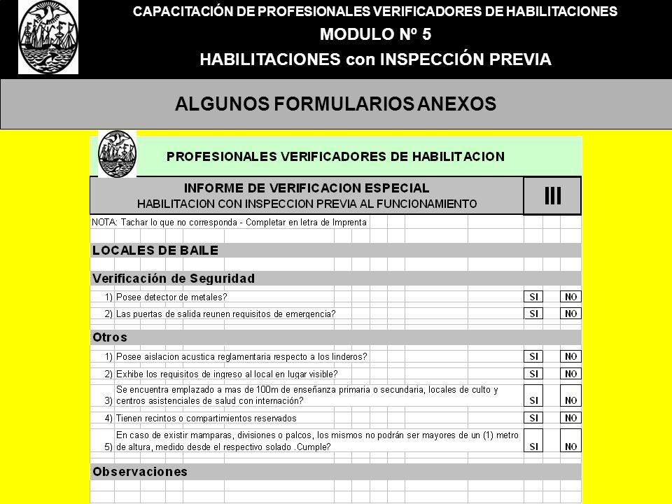 ALGUNOS FORMULARIOS ANEXOS
